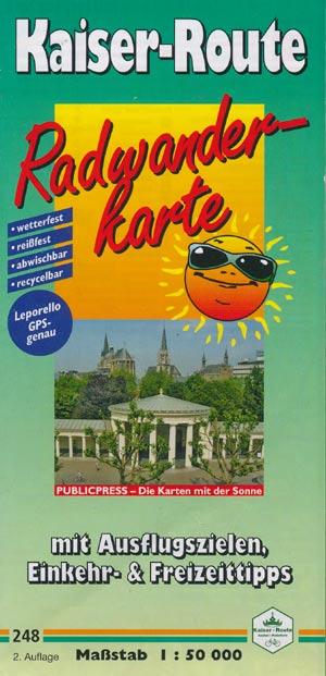 Radwanderkarte Kaiser-Route, Publicpress