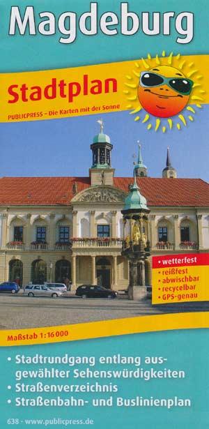 Stadtplan Magdeburg, Publicpress Verlag