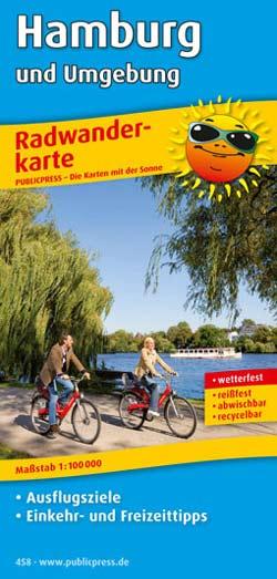 Radwanderkarte Hamburg und Umgebung, Publicpress