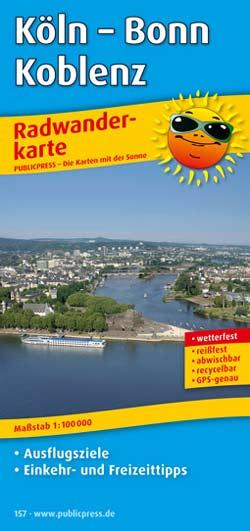 Publicpress Radwanderkarte Köln Bonn Koblenz