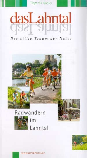 Faltblatt Radwandern im Lahntal