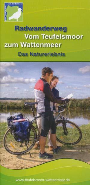 Radwanderweg vom Teufelsmoor zum Wattenmeer