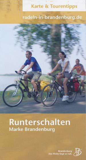 Runterschalten Radwege Land Brandenburg - Übersichtskarte