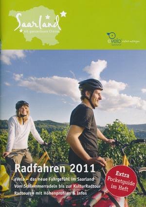 Broschüre Radfahren im Saarland 2013