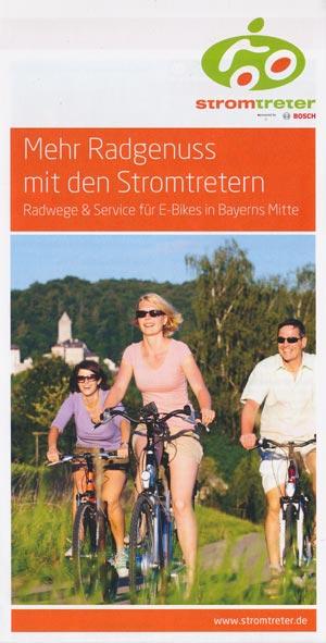 Mehr Radgenuss mit den Stromtretern - Radwege & Service für E-Bikes in Bayerns Mitte