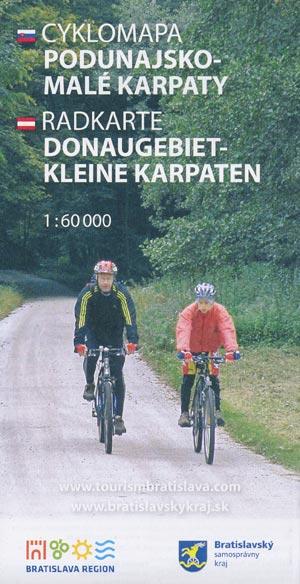 Radkarte Donaugebiet - kleine Karpaten / Cyklomapa Podunajsko - Malé Karpaty, M 1:60.000