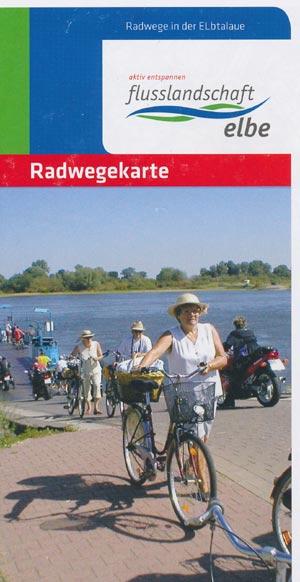 Radwegekarte Radwege in der Elbtalaue
