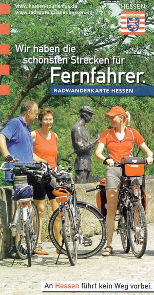 Radwanderkarte Hessen