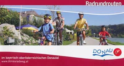 Radrundtouren im bayrisch-oberösterreichischen Donautal