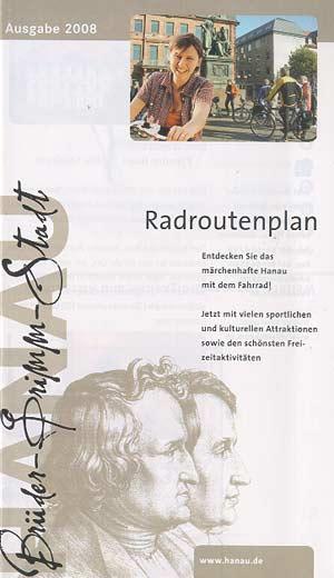 Radroutenplan Brüder Grimm-Stadt Hanau (2008)