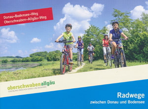 Radwege zwischen Donau und Bodensee: Donau-Bodensee-Weg / Oberschwaben-Allgäu-Weg