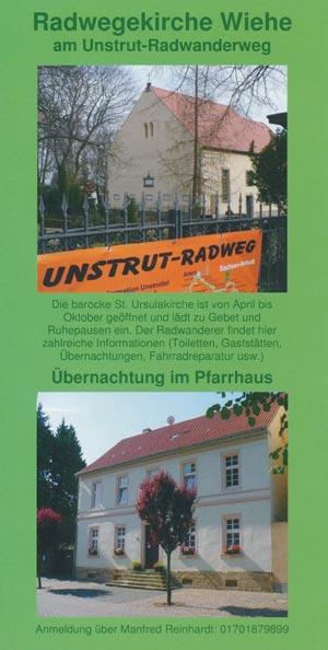 Radwegekirche St. Ursula Wiehe am Unstrutradweg