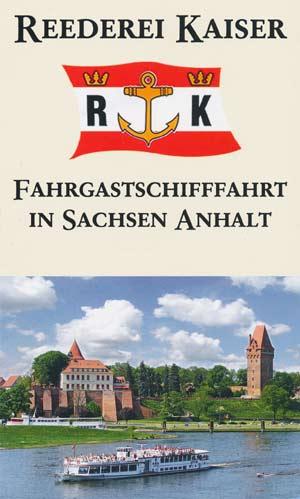 Flyer - Kaiser Rundfahrten - Fahrgastschifffahrt Tangermünde