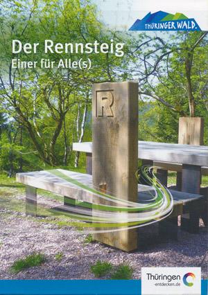 Der Rennsteig Thüringer Wald