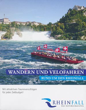 Wandern und Velofahren rund um den Rheinfall
