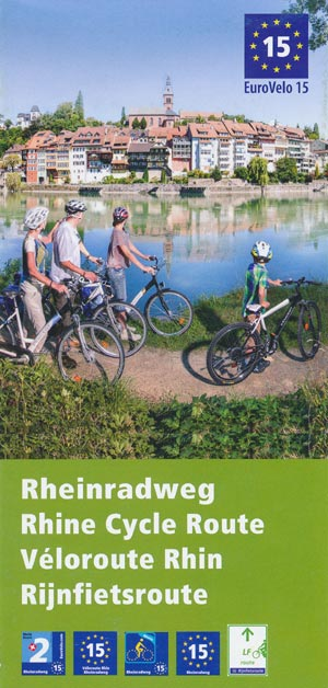 Rheinradweg - Euro Velo 15 - Rhine Cycle Route