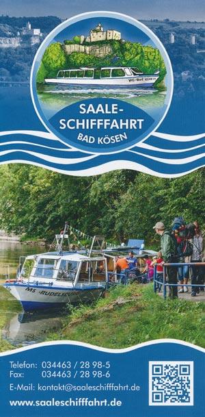 Saale-Schifffahrt Bad Kösen