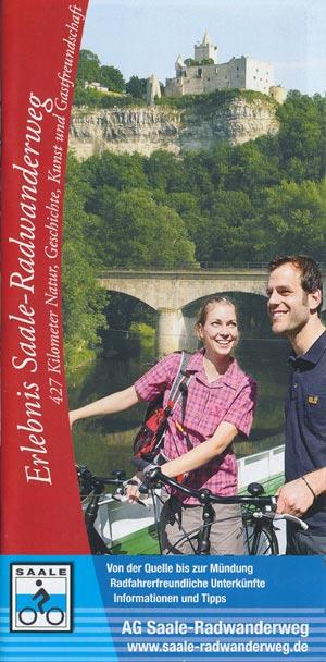 Saale-Radwanderweg, Broschüre
