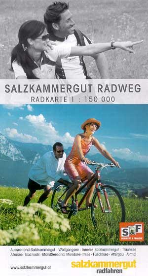 Radkarte Salzkammergut-Radweg, M 1:150.000