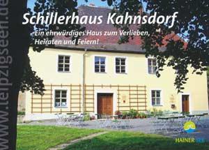 Schillerhaus Kahnsdorf - ein ehrwürdiges Haus