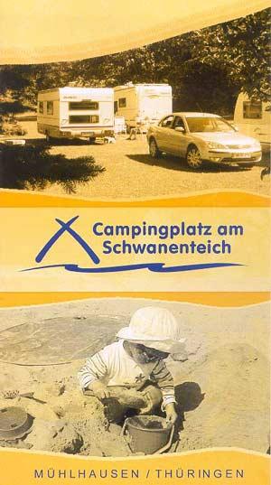 Campingplatz am Schwanenteich Mühlhausen/Thüringen
