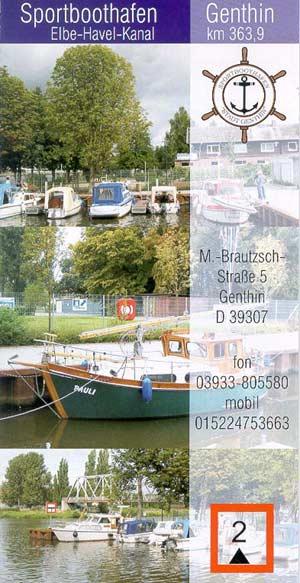 Sportboothafen Genthin - Elbe-Havel-Kanal km 363,9