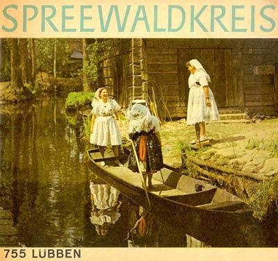 Spreewaldkreis 755 Lübben, Heft von 1969