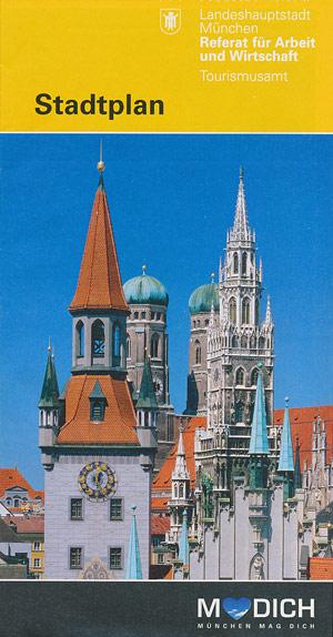 Stadtplan München Innenstadt