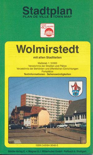 Stadtplan Wolmirstedt mit allen Stadtteilen, M 1:10.000 (94)