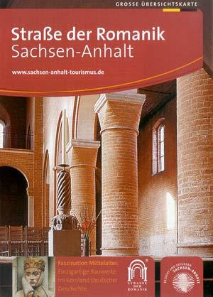 Straße der Romanik - Faszination des Mittelalters, Faltblatt
