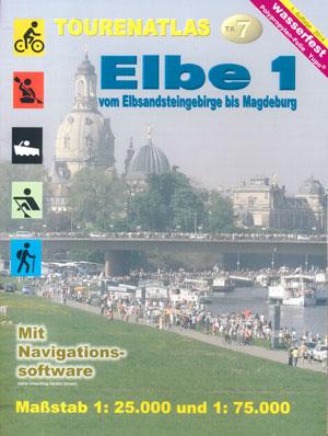 Tourenatlas TA7 Elbe 1 vom Elbsandsteingebirge bis Magdeburg, Jübermann Verlag