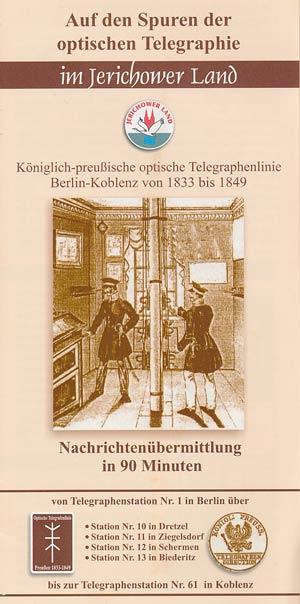 Auf den Spuren der optischen Telegraphie im Jerichower Land