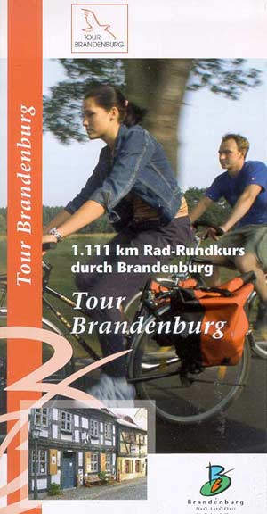 Radrundkurs Tour Brandenburg, Flyer