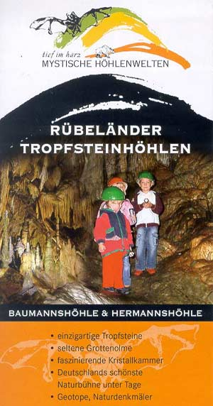 Rübeländer Tropfsteinhöhlen, Flyer