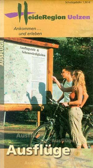 Ausflugskarte HeideRegion Uelzen