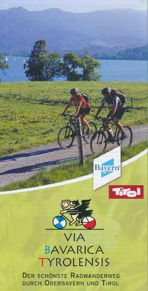Radweg Via Bavarica Tyrolensis