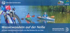 Wasserwandern auf der Neiße mit Kanu und Schlauchboot