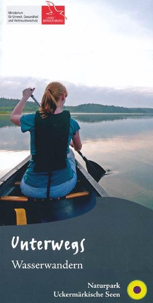 Unterwegs Wasserwandern - Naturpark Uckermärkische Seen