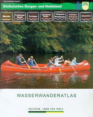 Wasserwanderatlas Mulde, Zschopau, Chemnitz, Leipziger Gewässer
