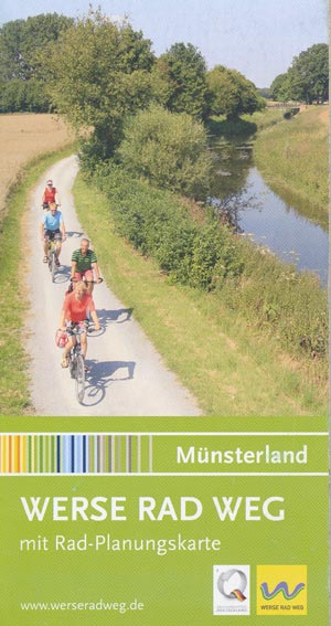 Werse-Radweg mit Rad-Planungskarte