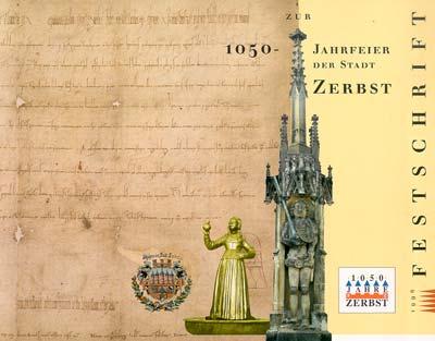Festschrift zur 1050-Jahrfeier der Stadt Zerbst