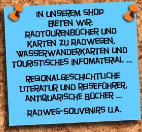 zum Radkarten-Wasserwanderkarten-Bücher-Shop
